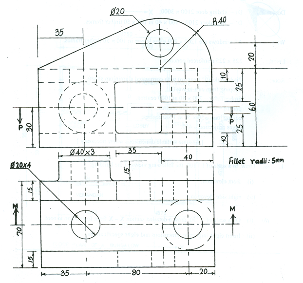 Technical Drawing Front Elevation : Technical drawing paper may june