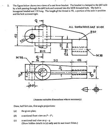 Technical Drawing Paper 2, Nov/Dec  2011